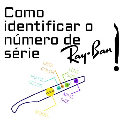 Como identificar o numero de serie Ray Ban 1