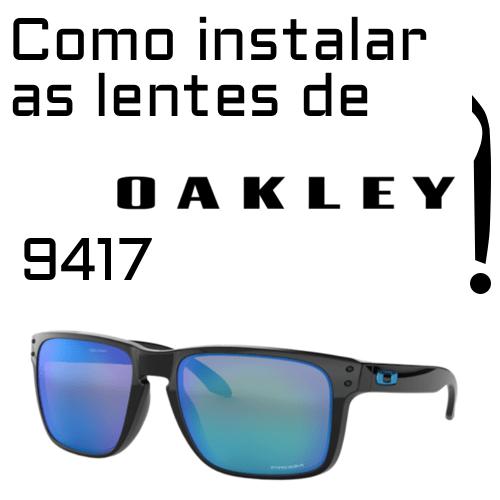 substituicao de lentes Oakley 9417 1